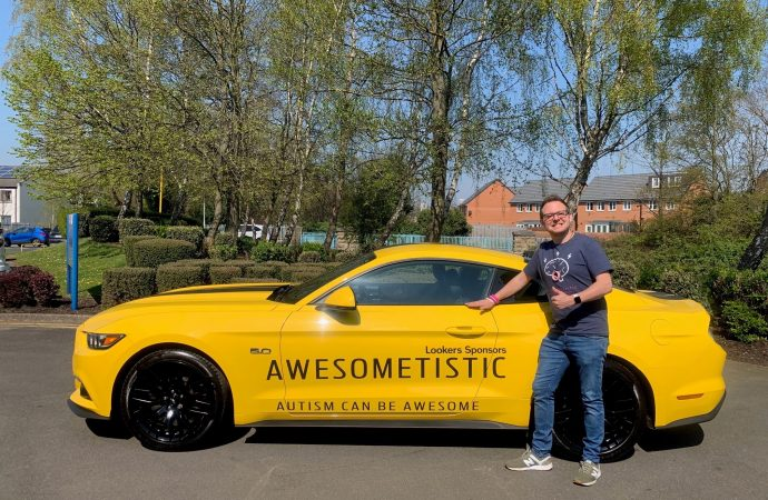 Lookers helps charity drive home awareness of autism issues