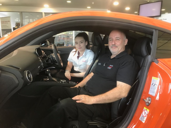 Audi dealership proud of perfect aftersales performance