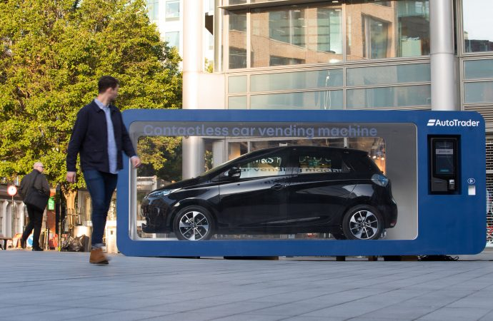 Contactless car vending machine tested in London to help buyers avoid haggling