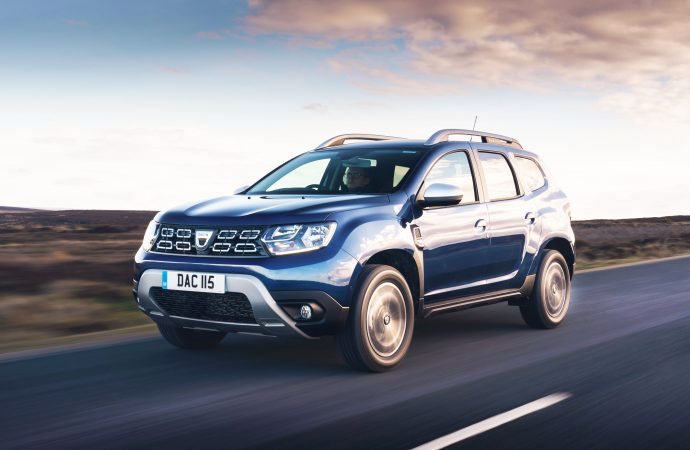 Delight at Good Housekeeping award for Dacia Duster