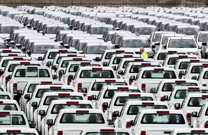 Car production rises for first time in more than a year