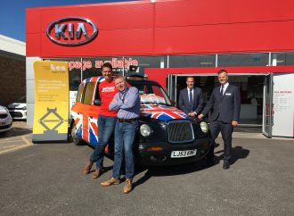 Car Dealer's Andy drops in to support What Car? fund-raising effort
