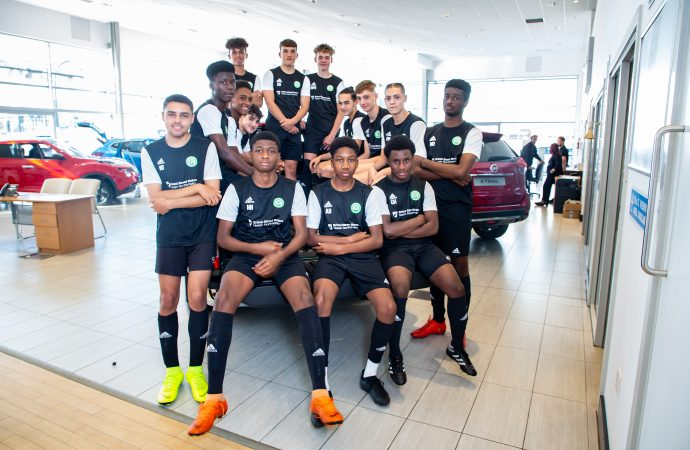 Northampton Nissan kits out Pioneers for new season