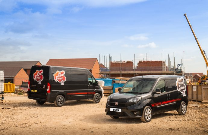 Brown sauce is the daddy and red sauce plays 'ketch-up' as Fiat Professional saves nation's bacon
