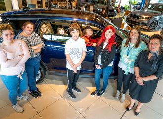 Farnell Land Rover praised for helping young carers to have time out