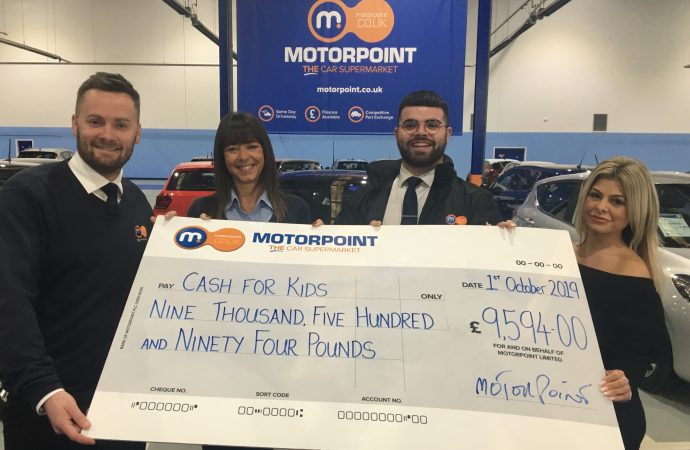 Motorpoint drive-in cinema proves to be fundraising blockbuster