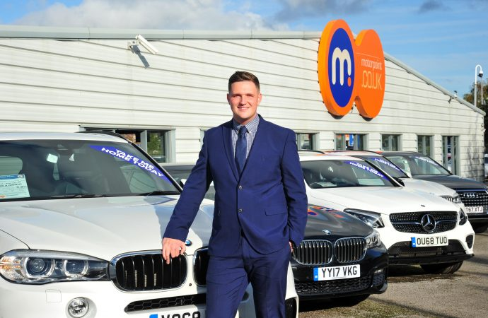 Jordan, 30, becomes Motorpoint's youngest ever general manager