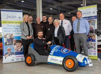 Motorpoint raises £1,500 for Sir Bobby Robson Foundation's fight against cancer