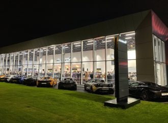 New McLaren Leeds showroom opens with display of past and present glories