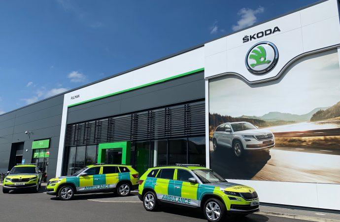 North East Ambulance Service adds Skoda Kodiaq to fleet