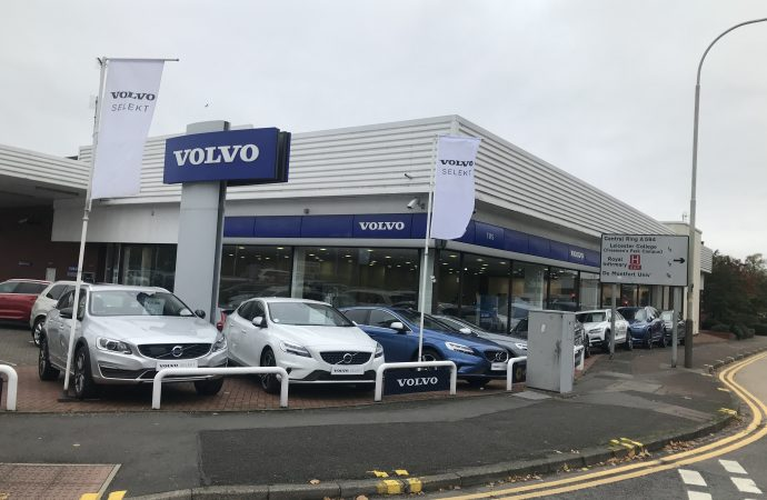 TMS Motor Group buys Sturgess Volvo Leicester