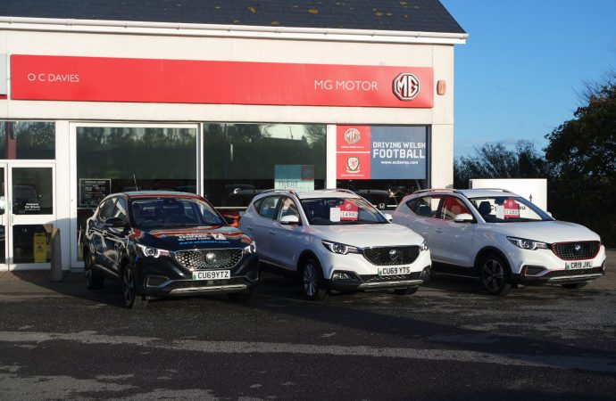 MG Motor UK expands further into west Wales with third OC Davies site