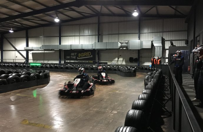 Bumping, rule-breaking and black flags – it's the latest qualifier of our go-karting challenge!