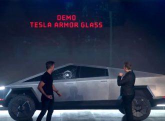 Tesla CyberTruck launch marred by 'shatterproof' windows breaking