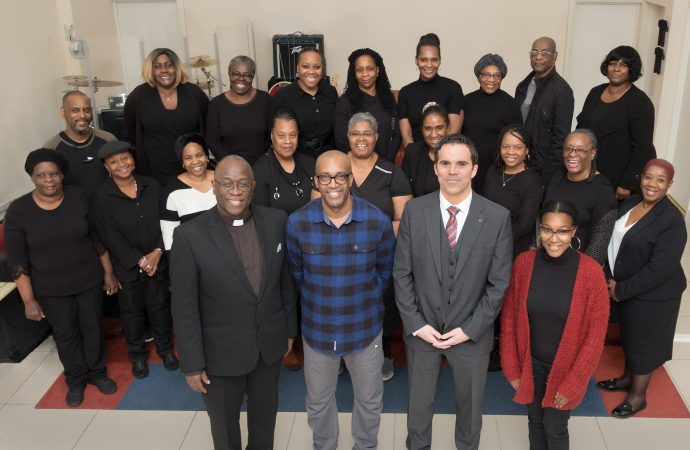 Chingford Vauxhall makes grand gesture to choir project