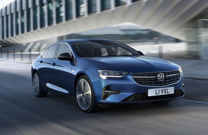 Vauxhall unveils refreshed Insignia