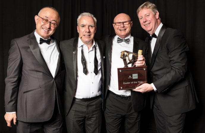 Suzuki's top dealers honoured at a glittering ceremony