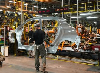 Double-digit percentage decline in car production, reports SMMT