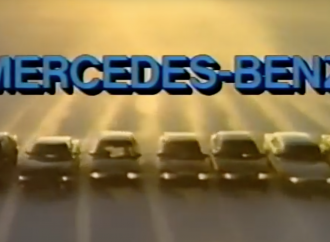 Step back in time with Mercedes-Benz sales training video