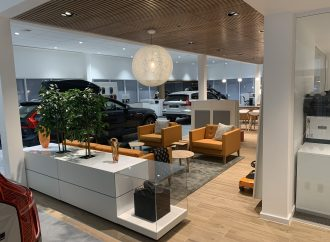 Official opening of new Volvo showroom in York