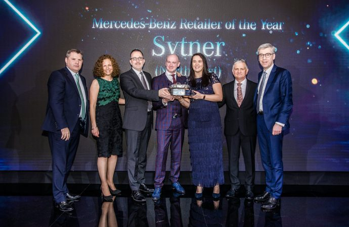 Sytner North East named Mercedes-Benz Retailer of the Year 2019