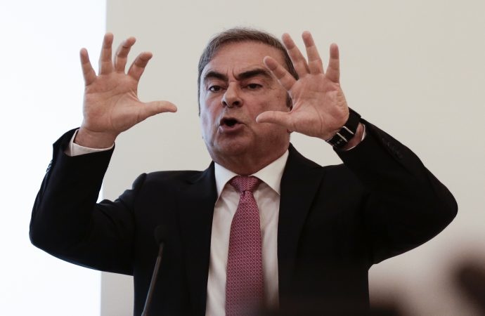 My detention was a travesty, Carlos Ghosn tells news conference