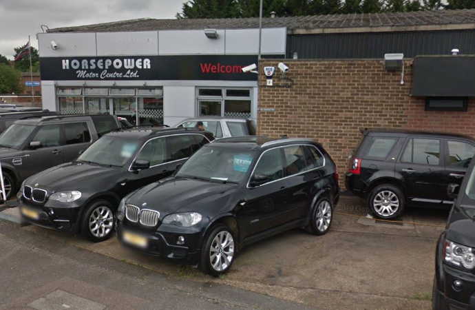 Dealership left with £3,000 bill after thief strikes
