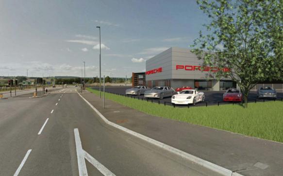 Pendragon planning new multi-million-pound Porsche dealership – plus retirement apartments
