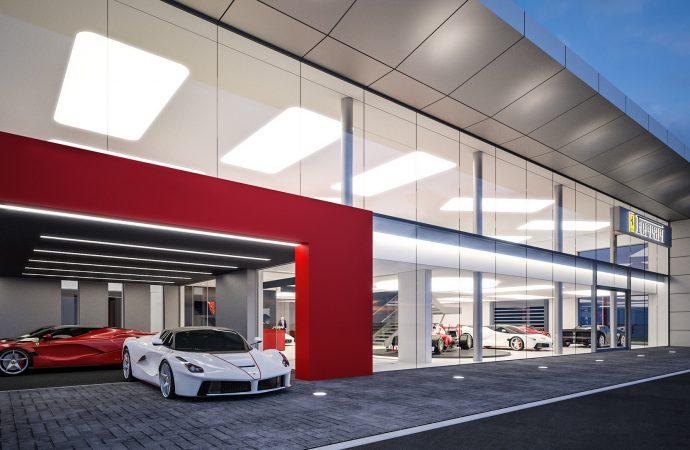 JCT600 finalises multi-million-pound Ferrari Leeds showroom contract