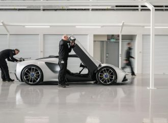VIDEO: Almost there! Finishing touches being put to Lotus Evija factory
