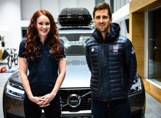 Triathletes host celebrations as £6m Volvo dealership opens