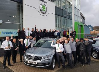 Rainworth Skoda sets new record at awards ceremony